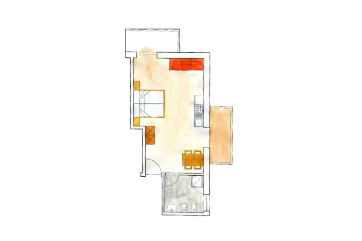 Appartement 2 4 Pers