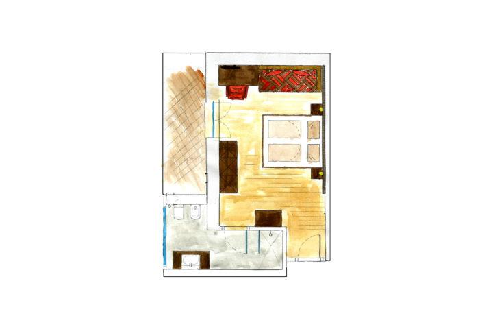 Zimmer Adler 2 3 Pers