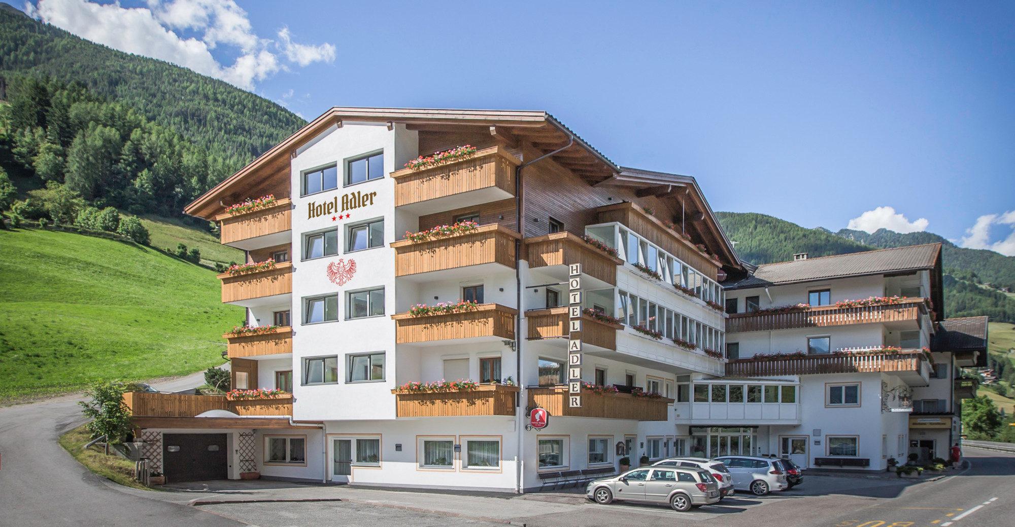 L hotel adler nella valle aurina for L hotel della cabina islanda